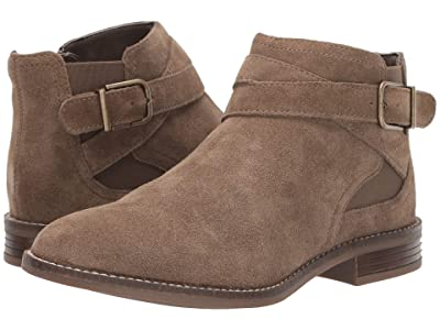 Clarks Camzin Hale (Taupe Suede) Women