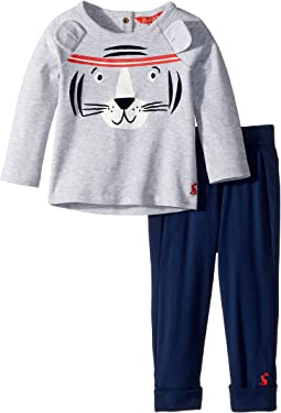 Joules Kids Novelty Tiger Two-Piece Set (Infant)
