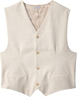Shiny Slub Twill Vest (Big Kids)