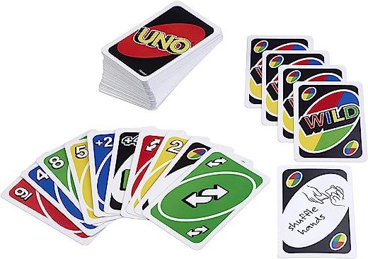 Mattel Uno Playing Card Game 1