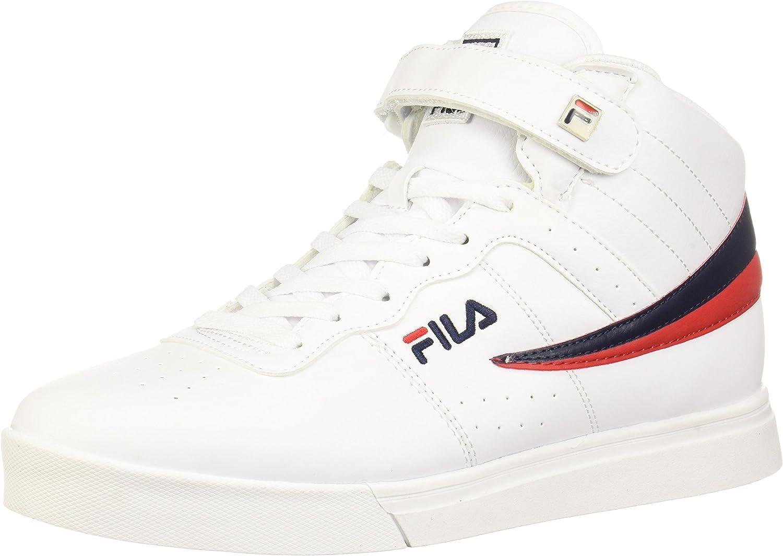 Fila herrar Vulc Vulc Vulc 13 Mid Plus 2 gående skor, vit Navy röd -150, 8.5 D USA  reklamartiklar