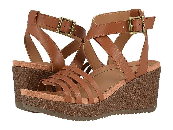 VIONIC  Clarisa (Cognac) Womens Shoes