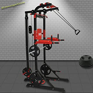 Power Tower - Power Rack - LAT Pulldown/Row Pulley/Chin Up Station/Dips