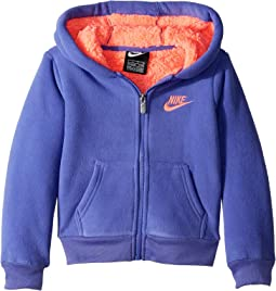 Futura Fleece Sherpa Hoodie (Little Kids)
