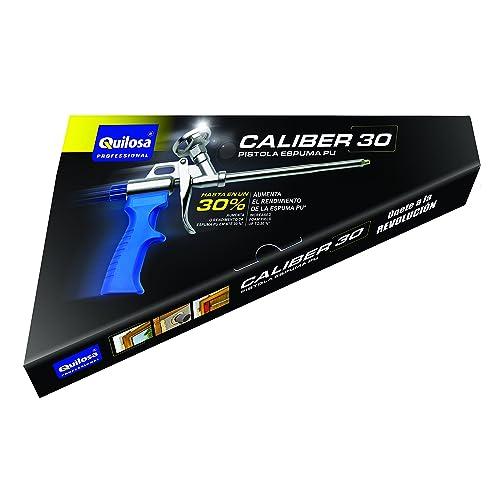 quilosa T004143 Pistola Espuma Caliber 30 Un Un, Negra
