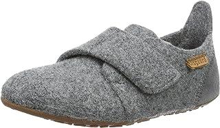 Bisgaard Hausschuhe-Wool Velcro, Mocasines Unisex Niños