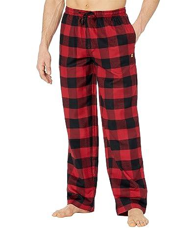 tentree Ember Pajama Pants (Rio Red/Meteorite Black Plaid) Men