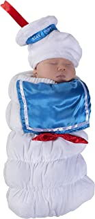 Baby Ghostbusters Stay Puft Swaddle Deluxe Costume