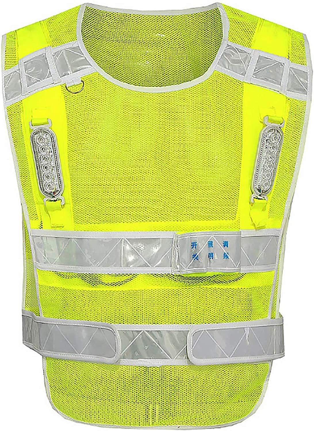 CTARCROW Reflective Vest Safety Vest Fluorescent Belt Joking Bicycle Motorcycle Traffic Cover Night Predection induces Fluorescent Reflective Safety Vest Universal Construction Uniform for Men and wo