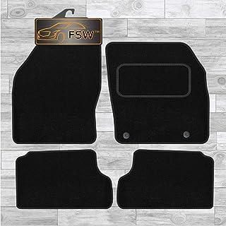 FORD FOCUS Mk1 1998-2004 CLASSIC Tailored Black Car Floor Mats