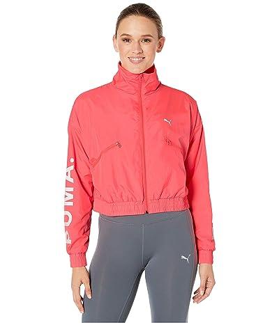 PUMA Chase Woven Jacket (Pink Alert) Women
