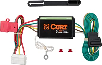 CURT 56192 Vehicle-Side Custom 4-Pin Trailer Wiring Harness for Select Acura MDX SUV