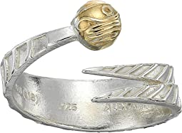 Harry Potter Golden Snitch Two-Tone Ring Wrap