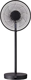 ツインバード 【扇風機】リビング扇(リモコン付 ブラック)TWINBIRD COANDA AIR(コアンダエア) EF-E981B
