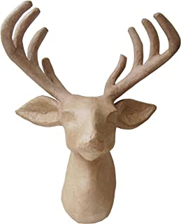 Country Love Crafts Reindeer Head Papier Mache
