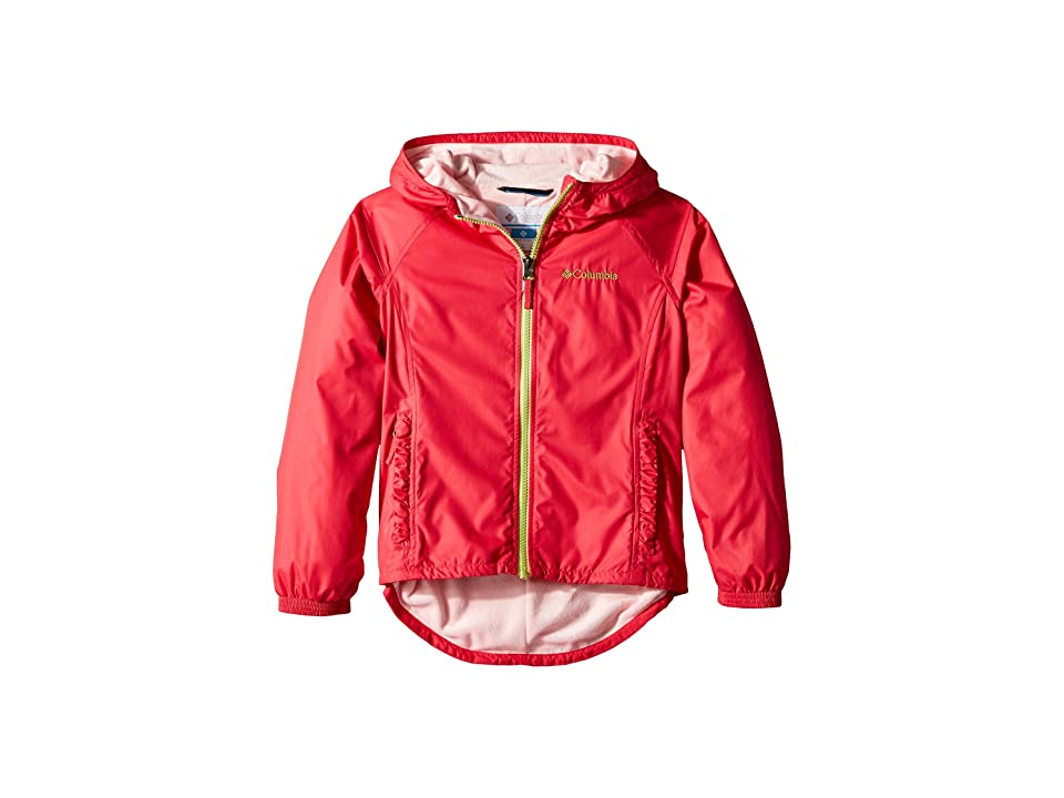 Columbia Kids Ethan Pondtm Jacket (Little Kids/Big Kids) (Punch Pink/Cherry Blossom) Girl