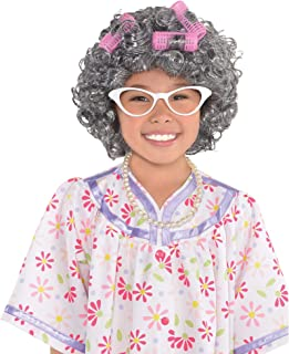 AMSCAN Grandma Costume Accessory Kit for Girls, One Size, 3 Pieces