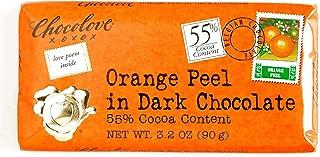 Chocolove Orange Peel in Dark Chocolate 3.2 oz each (6 Items Per Order)