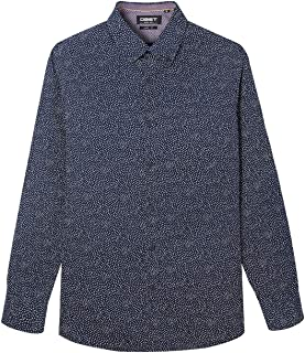 Men's Casual Button-Down Long-Sleeve Classic-Fit Printed...