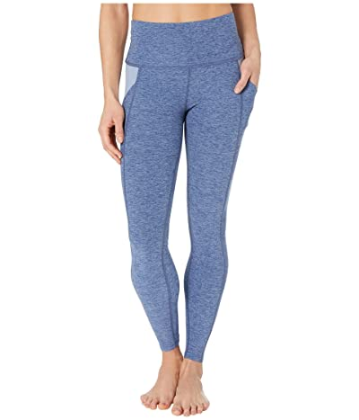 Beyond Yoga Spacedye In The Mix High-Waisted Midi Leggings (Serene Blue/Hazy Blue) Women