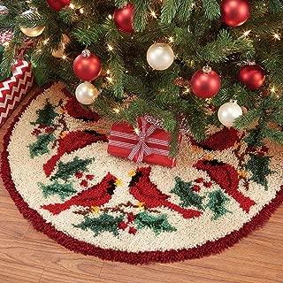 Herrschners® Cardinal Twosome II Tree Skirt Latch Hook Kit