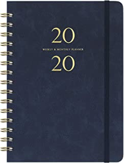 2020 Planner - Weekly & Monthly Planner with Monthly Tabs, 6.3