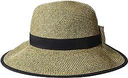 Paper Braid Round Crown Hat