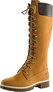 Timberland Woms Prem 14 Inch Wheat Womens Boots