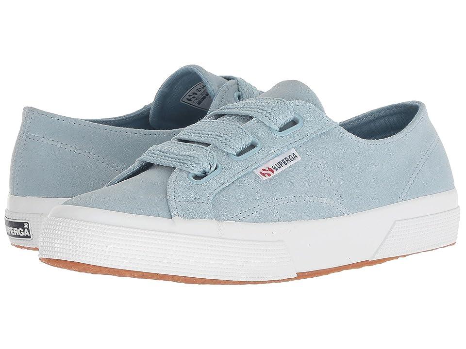 Superga 2750 Suew Biglace (Light Blue) Women