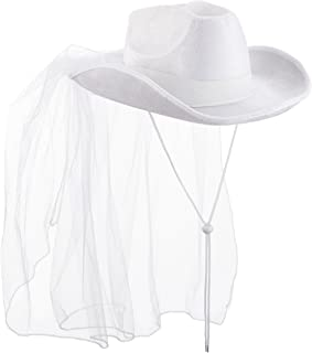 bachelorette party cowboy hats