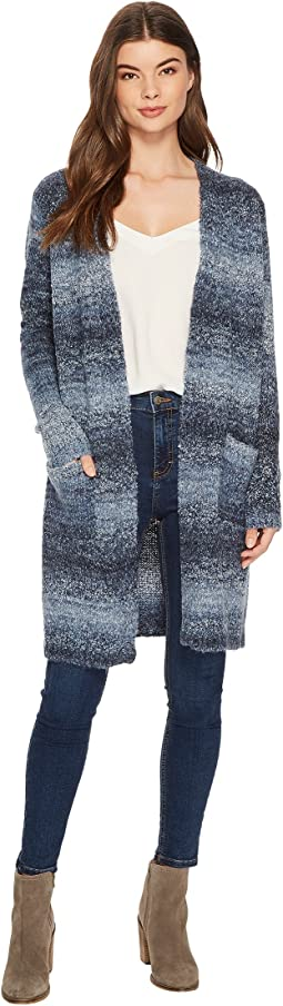 Tribal - Space Dye Boucle Long Sweater Cardigan