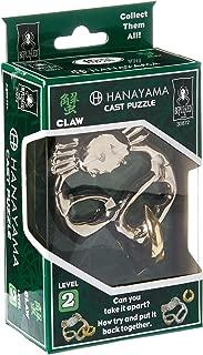BePuzzled Hanayama Cast Metal Brainteaser Puzzles - Hanayama Claw Puzzle (Level 2)