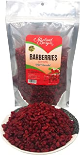 Barberries Dried Natural Barberry Fruit, Antioxidants Rich (6 Oz)