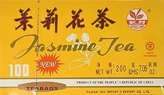 Chinese Jasmine Green Tea 100 Tea Bags by A2AWorld Green Tea