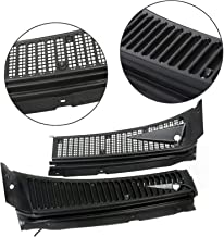 Fit For Ford 99-07 F250 F350 Windshield Wiper Vent Cowl Screen Cover Grille Panel