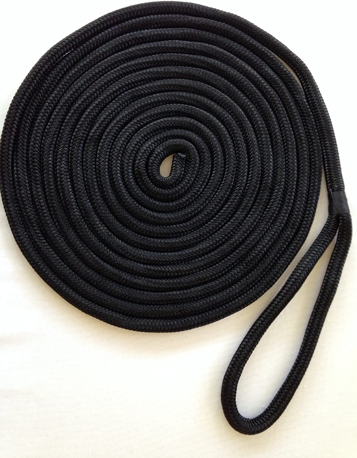 2021 Direct store model 5 8 Inch by 35 Feet Nylon Double Braid Dock Rope Line