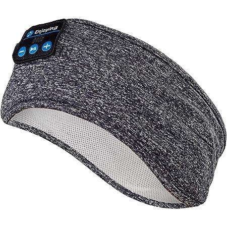 Auriculares para Dormir - Navly Bluetooth V5.0 Deportes Diadema   Deportiva Banda Auriculares con Ultrafinos HD Estéreo Altavoces, Deportes, Dormir de Lado, Viajes Aéreos y Relajación