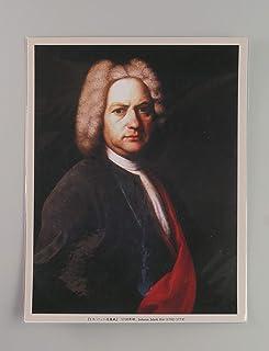 BiblioArt Series J. S. バッハの肖像画ーA5版サイズ額絵