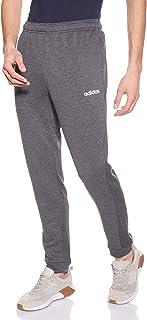 adidas Men's Men's D2M CLIMA Knit Pants, Grey (Dark Grey Heather/Black), Medium