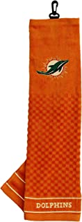 Team Golf NFL Embroidered Golf Towel, Checkered Scrubber Design, Embroidered Logo