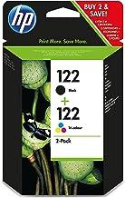 HP 122 Combo-pack Black/Tri-color - Cartucho de tinta para impresoras (Negro, Cian, Magenta, Amarillo, 220 páginas, HP Deskjet 2050, -40-60 °C, 15-32 °C, 20-80%)