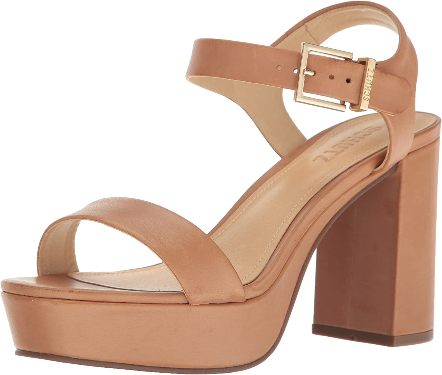 Schutz Womens Rhenda Platform Dress Sandal