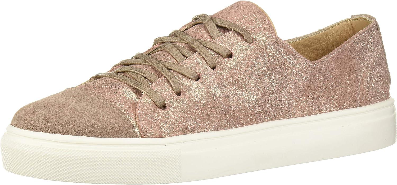 KAANAS Women's Salinas Leather Lace-up Fashion Sneaker