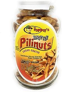 Poppoys Brittle Pili Nuts, Sugar Coated 180g (6.4oz)