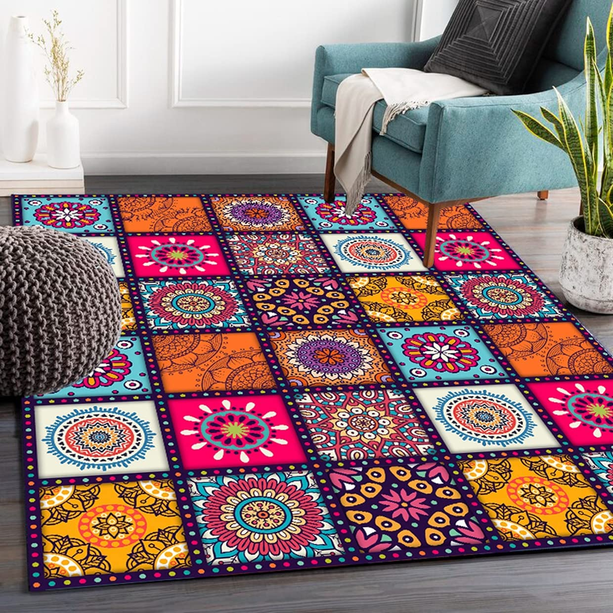 Warm Tower Boho Rugs 1 year warranty for Living Runner Surprise price Washable Room