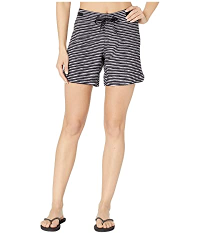 Prana Silvana Boardshort (Black Stripe) Women