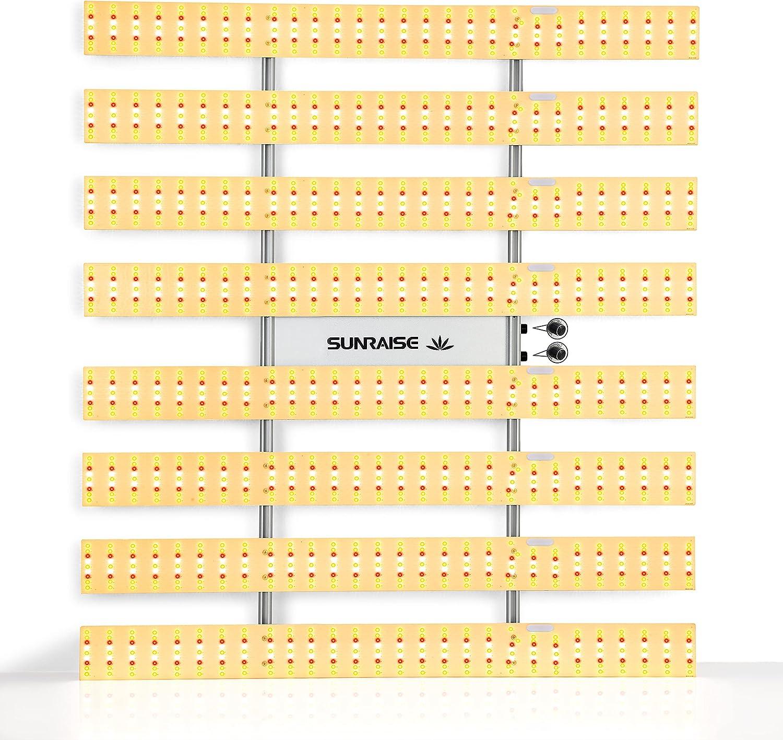 LED Grow Light SUNRAISE QB6500 5x5ft OFFicial store Dimmable Gr Super-cheap 4x4ft 6x6ft