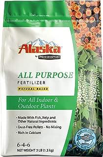 Alaska 100504562 All Purpose Dry Fertilizer 3lb, 3-Pound