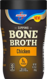 Swanson Sipping Bone Broth, Chicken, 10.75 Oz