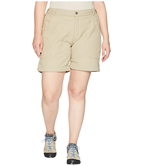 9f48ca3784e40 White Sierra Plus Size Sierra Point Convertible Pant at Zappos.com